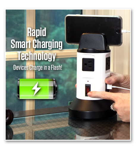 Rapid Smart Charging Technology Devices Charge in a Flash!